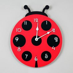 Just bought this Ladybug Clock for my ladybug classroom!!!!