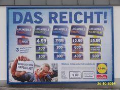 418. - Plakat in Stockach. / 26.10.2014./
