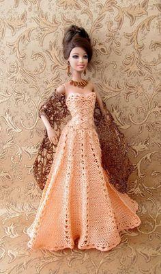 Barbie Crochet #crochettoysbarbieclothes