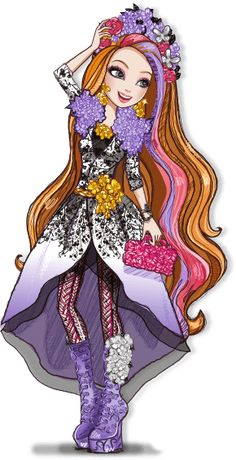 Ever After High Spring Unsprung Holly O'hair Artwork