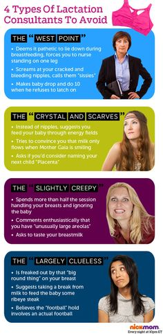 4 Types Of Lactation Consultants To Avoid | More LOLs & Funny Stuff for Moms | NickMom