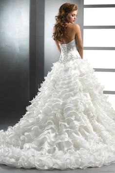 Wedding Gown Back