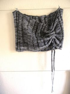 French Press Cowl by Larissa Brown