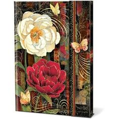 Punch Studio Magnetic Closure Journal-twilight Bloom