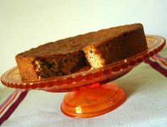 Mincemeat cake- recipe in French (use google translate)