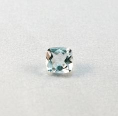 Natural 1.37 cts Aquamarine Loose Stone Faceted by GemoGemArt