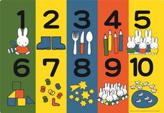 26-02 The number of Picturesque looking puzzle 20 piece Miffy (japan import): Amazon.co.uk: Toys & Games