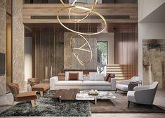 Living Area on Behance