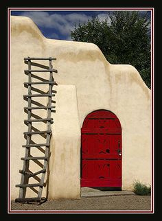 red door, reminds me of the southwest