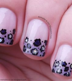 Degradê oncinha by esmalteecor - Nail Art Gallery nailartgallery.nailsmag.com by Nails Magazine www.nailsmag.com #nailart