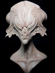 New Alien sculpt by barbelith2000ad.deviantart.com on @deviantART