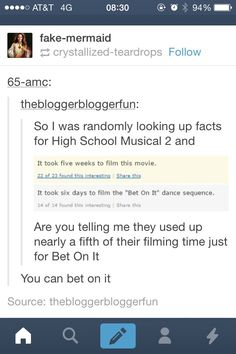 Well they needed to spend more time on it because it was still the worst number in any of the movies. //HSM 2 http://ibeebz.com