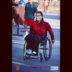 Liliana Hernandez un ejemplo de vida en el deporte en Aguascalientes más en www.agssports.com