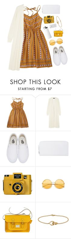 """""""Last summer"""" by mode-222 ❤ liked on Polyvore featuring Theory, Vans, Maison Margiela, Holga and Cartier"""