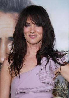 juliette lewis | Juliette Lewis opted to leave her dark locks down at the Due Date Los ...