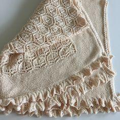 Baby blanket | Helle Slente Design | knitting pattern available through GoHandmade.dk