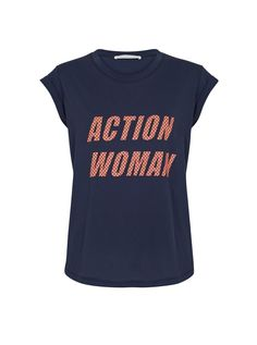 We think many ladies will love this T-shirt! Just in store, £49