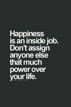 Happiness...