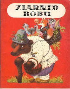 Garaż ilustracji książkowych: Ziarnko Bobu - 2 - Marianna Bielajewa