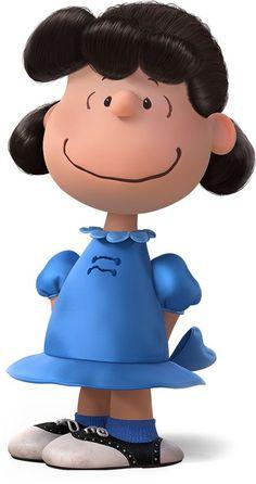Conocida por el barrio (y por su hermano pequeño, Linus ) por ser malhumorada y mandona , Lucy a menudo la puedes encontrar en su cabina  psiquiatrica de 5 centavos, tirando de la  manta de seguridad de Linus, o humillando a Charlie Brown. La  única debilidad de Lucy es su amor no correspondido por  el pianista Schroeder.: