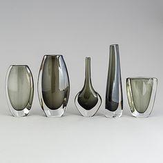 Glass Design, Design Art, Nordic Design, Modern Contemporary, Glass Art, Retro Vintage, Auction, Mid Century, Ceramics