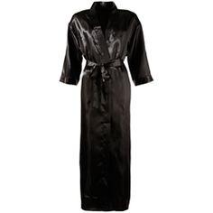 Zwarte Kimono - Dames Kleding - Zwarte pikante lingerie - http://www.kinky-toys.eu/producten/zwarte_kimono_2115.html