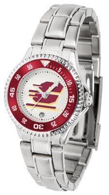 Central Michigan University Competitor - Steel Band - Ladies - Women's College Watches by Sports Memorabilia. $78.73. Makes a Great Gift!. Central Michigan University Competitor - Steel Band - Ladies