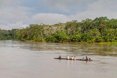 Un trib din Amazon se luptă pentru a-și apăra stilul de viață ancestral. Orașul le este amenințat de construcția de baraje