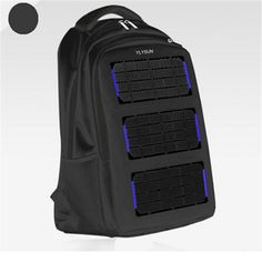 99.99$  Buy here - http://alipmm.worldwells.pw/go.php?t=32673507244 - Original 8W 5V Solar Battery Charging Business Travel Backpacks Tourism  Solar Panel USB Output Charger Backpack