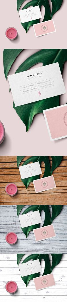 Free Feminine Business Card Mockup (39.6 MB) | Graphics Fuel | #free #photoshop #mockup #psd #feminine #business #card