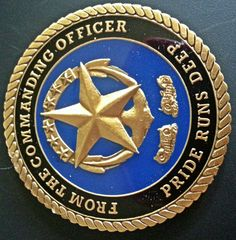 USS Jimmy Carter SSN 23 Submarine Coin Navy Run Silent Deep USN Navy