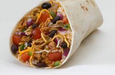 Receta vegetariana de enchilada