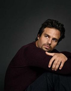 Mark Ruffalo. The only hulk. Sorry Edward. (You're a close second!)