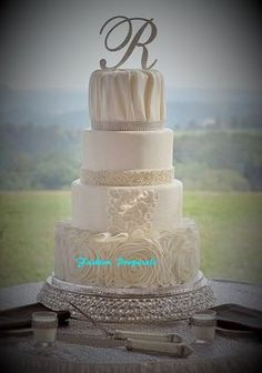 """Wedding Crystal Cake Stand 12"""" Inches Diameter By 3 Inches Tall"""