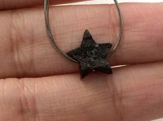 10.5mm Black Star Rough Diamond Black Star by gemsforjewels