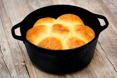 Dutch Oven Pull Apart Rolls   In The Kitchen With Honeyville