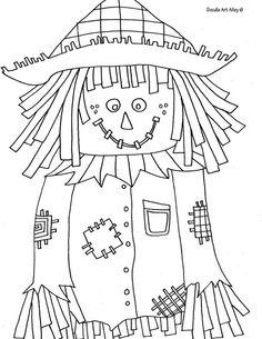 Scarecrow printable for mom