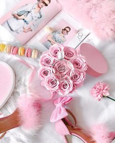 Find images and videos about fashion, pink and flowers on We Heart It - the app to get lost in what you love. Princess Aesthetic, Pink Aesthetic, Pink Love, Pretty In Pink, Everything Pink, Pink Princess, Pastel Pink, My Favorite Color, Cute Wallpapers