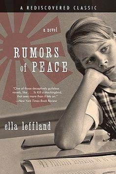 Rumors of Peace: A Novel