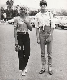 Sylvie Vartan et Françoise Hardy