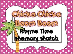 Live, Love, Laugh Everyday in Kindergarten: Chicka Chicka Unit and FREEBIE!