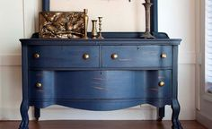 Image of: Navy Blue Chalk Paint Color Chart