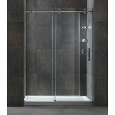 Madison Shower 10 mm Tempered Glass Reversible Door Tub Replacement