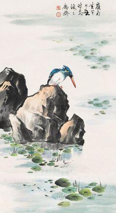 #MasterHuangHuanWu #ChineseInkPainting #FlowersAndBirdsBrushPainting