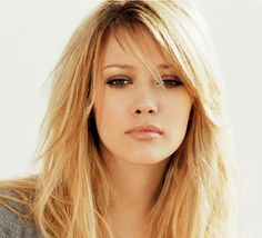 """should I do softer bangs like this with the layers & kinda ease into it...or chop them off """"a la"""" Zooey Deschanel??"""