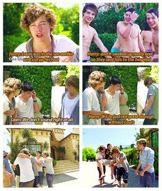 when louis was gone...brb sobbing. I remember watching this and going omg