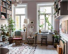 my scandinavian home: Karolina Modig's Beautifully Creative Stockholm Home Home Interior, Interior Decorating, Interior Design, Dream Apartment, Apartment Living, Living Room Decor, Living Spaces, Living Rooms, Magazine Deco