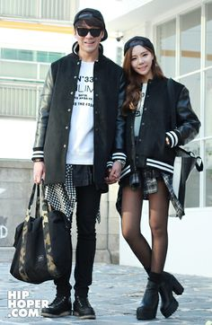 Asian #fashion couple