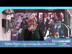 Intervista a Edda Rigon di Selleria Equipe #fieracavalli