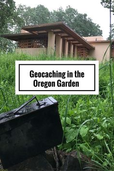Geocaching in the Oregon Garden in Silverton, Oregon - Road Trips For Families